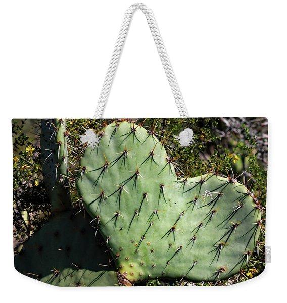 Love In The Desert Weekender Tote Bag