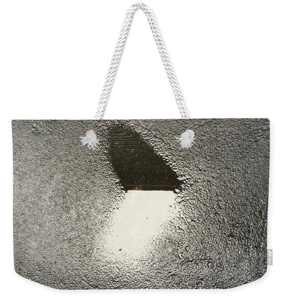 Love In The Rain Weekender Tote Bag