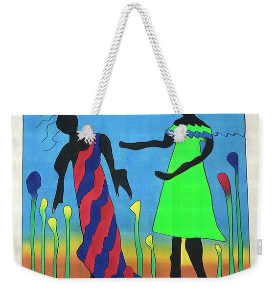 Love In The Reeds Weekender Tote Bag