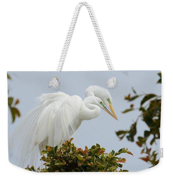 Love In The Treetops Weekender Tote Bag