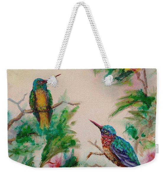 Love Is In The Air Weekender Tote Bag