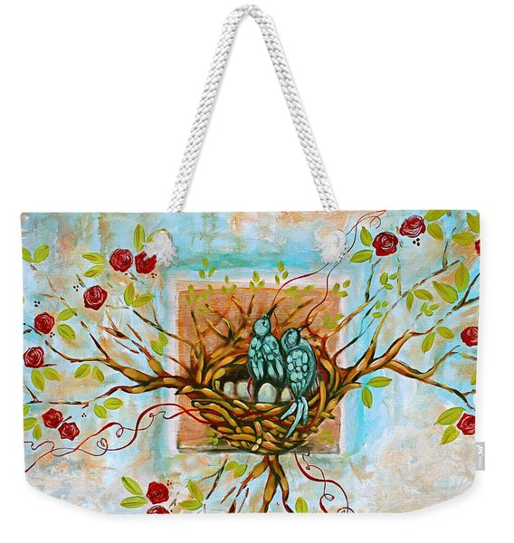 Love Is The Red Thread Weekender Tote Bag