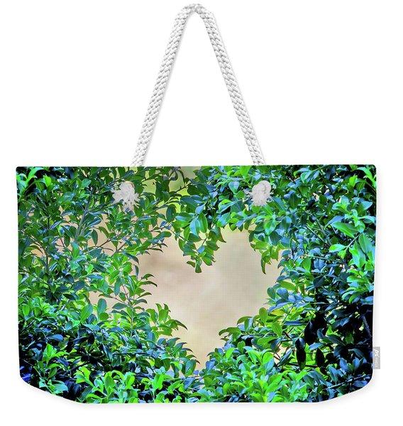 Love Leaves Weekender Tote Bag