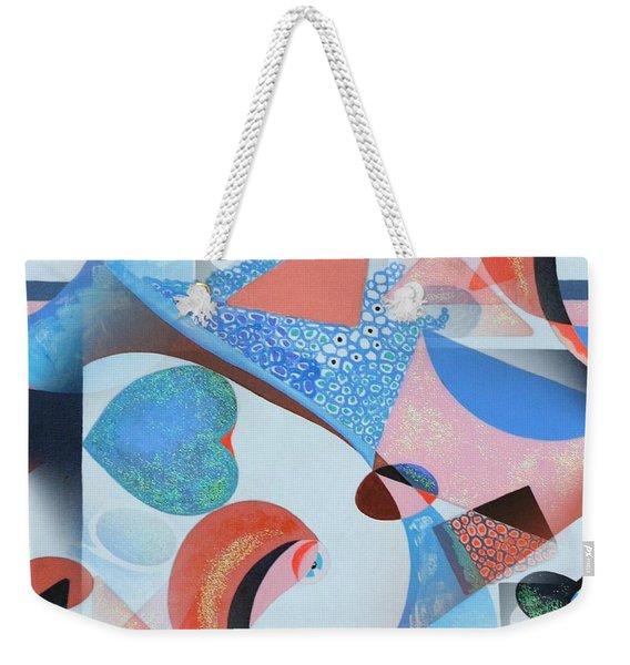 Love Letters #2 Weekender Tote Bag