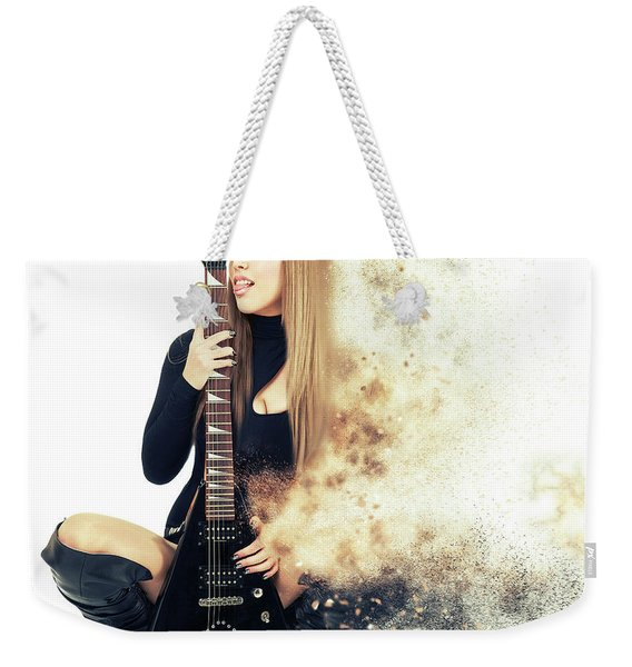 Love Music Weekender Tote Bag