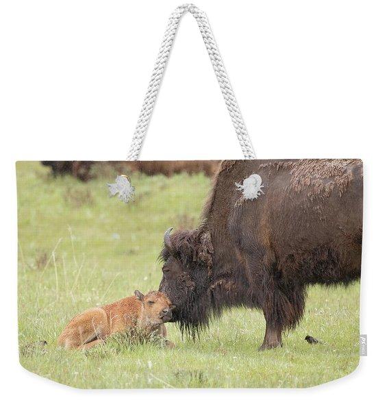 Love My Mama Weekender Tote Bag
