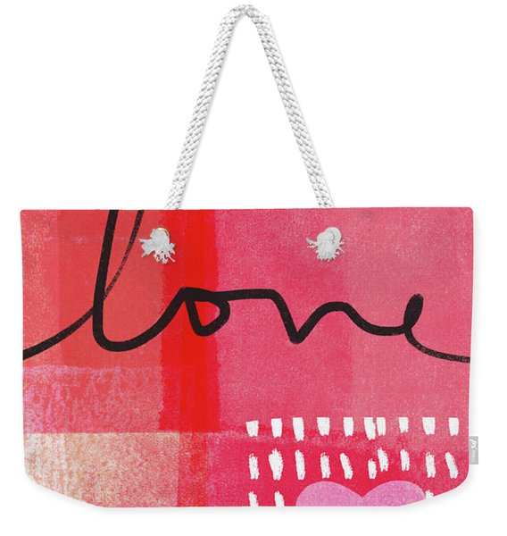 Love Notes- Art By Linda Woods Weekender Tote Bag