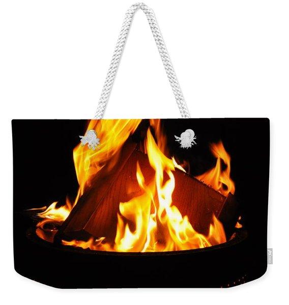 Love Of Fire Weekender Tote Bag