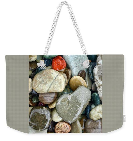 Love Of Lake Weekender Tote Bag