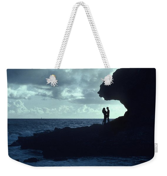 Love On The Rocks Weekender Tote Bag