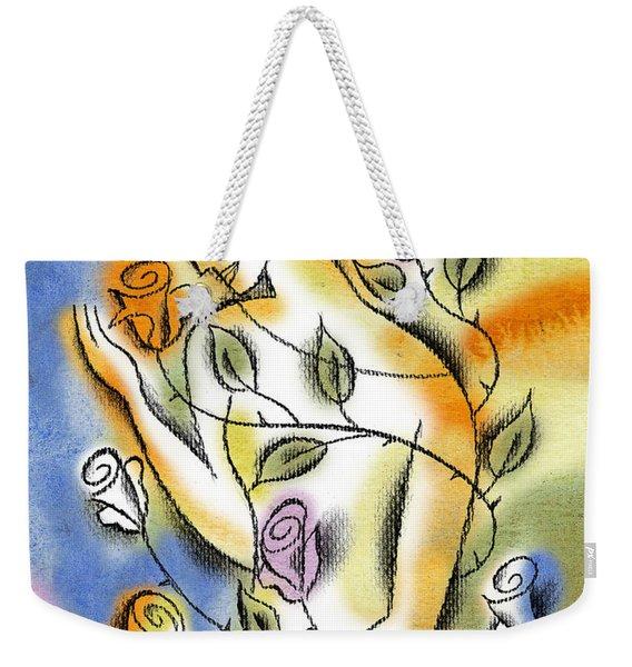 Love, Roses And Thorns Weekender Tote Bag