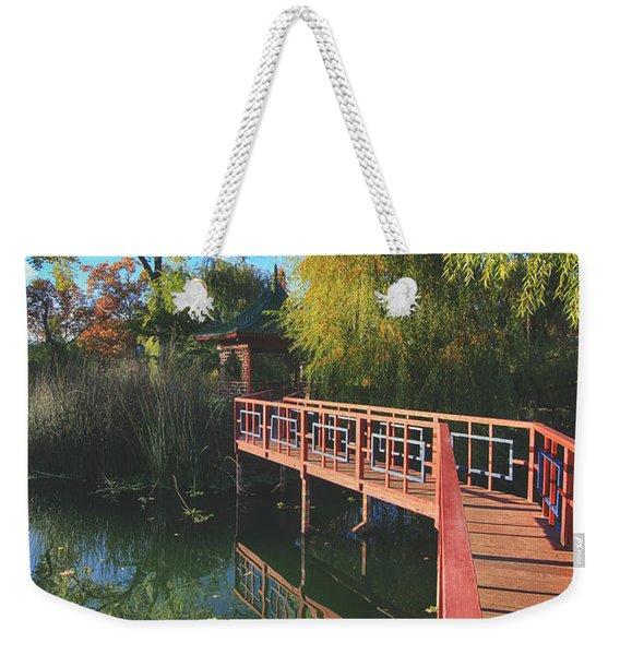 Love Set Me Free Weekender Tote Bag