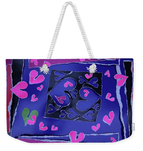 Love Soul Love Skeloton And The Subject Of Life Weekender Tote Bag