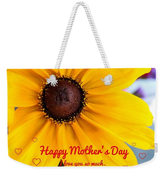 Love You Mama Weekender Tote Bag