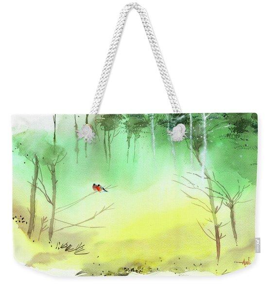 Lovebirds 3 Weekender Tote Bag