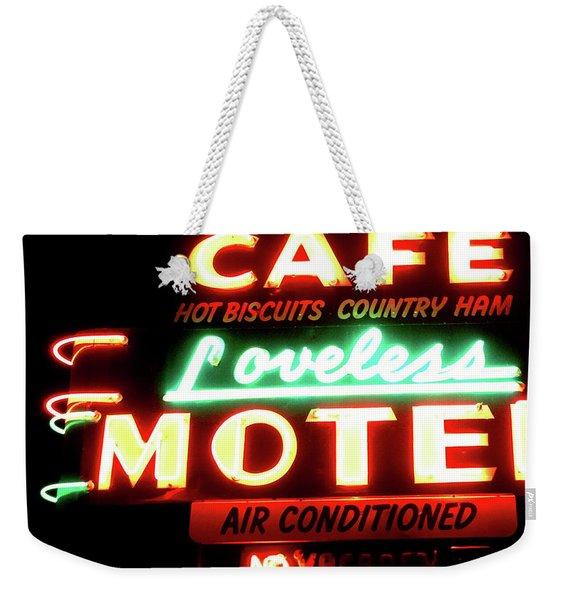 Loveless Cafe- Art By Linda Woods Weekender Tote Bag