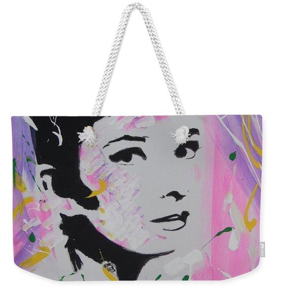 Lovely Audrey Weekender Tote Bag