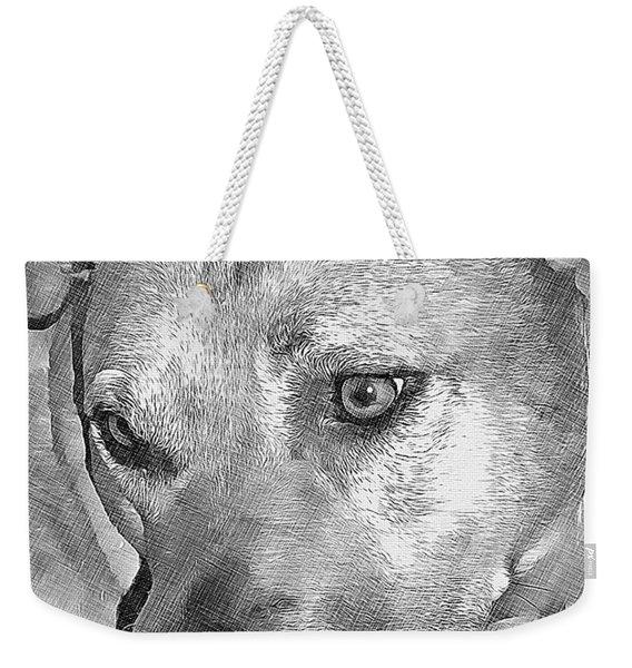 Lovely Dog Weekender Tote Bag