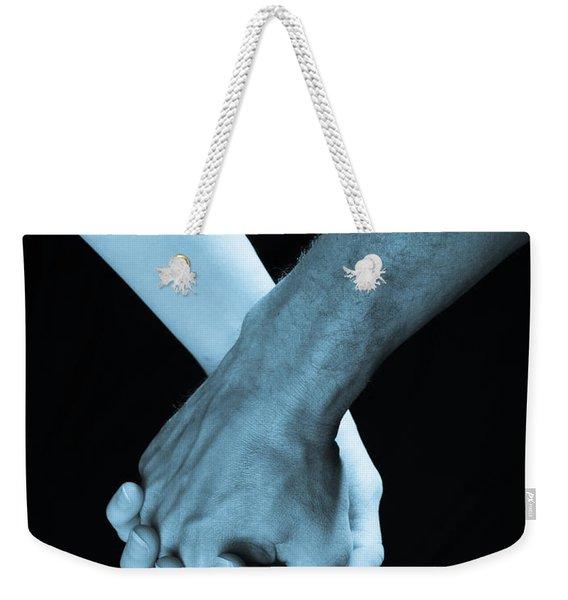 Lovers Hands Weekender Tote Bag