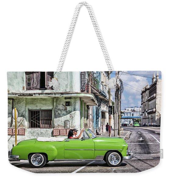 Lovin' Lime Green Chevy Weekender Tote Bag