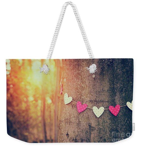 Loving Nature Weekender Tote Bag