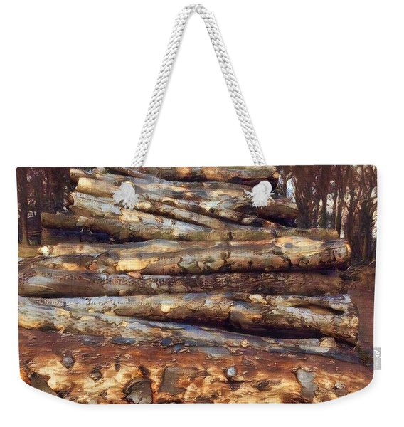 Loving The Forest  Weekender Tote Bag