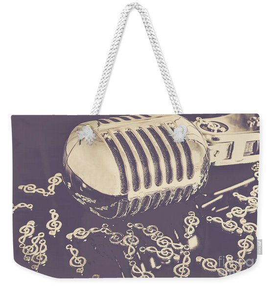 Low Key Jazz Bar Weekender Tote Bag