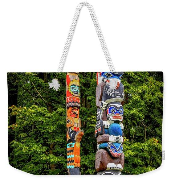Low Man Weekender Tote Bag