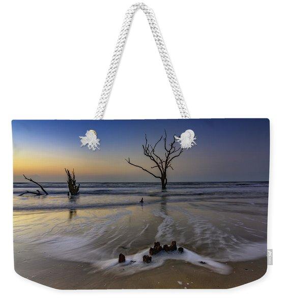 Low Tide At Botany Bay Weekender Tote Bag