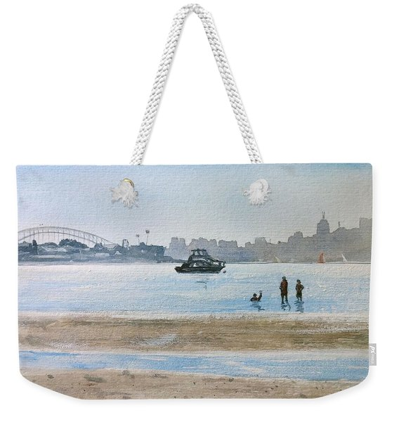 Low Tide At Rose Bay Weekender Tote Bag