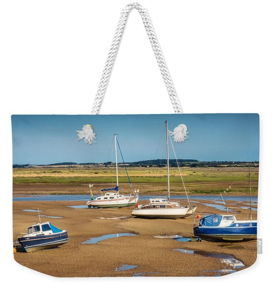 Weekender Tote Bag featuring the photograph Low Tide by Nick Bywater