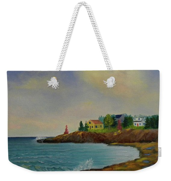 Low Tide Weekender Tote Bag