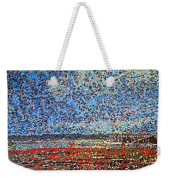 Low Tide - St. Andrews Wharf Weekender Tote Bag