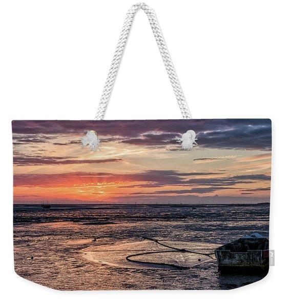 Low Tide, Thurstaston Weekender Tote Bag