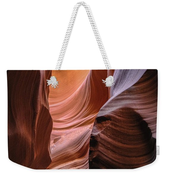Lower Antelope Canyon Navajo Tribal Park #1 Weekender Tote Bag