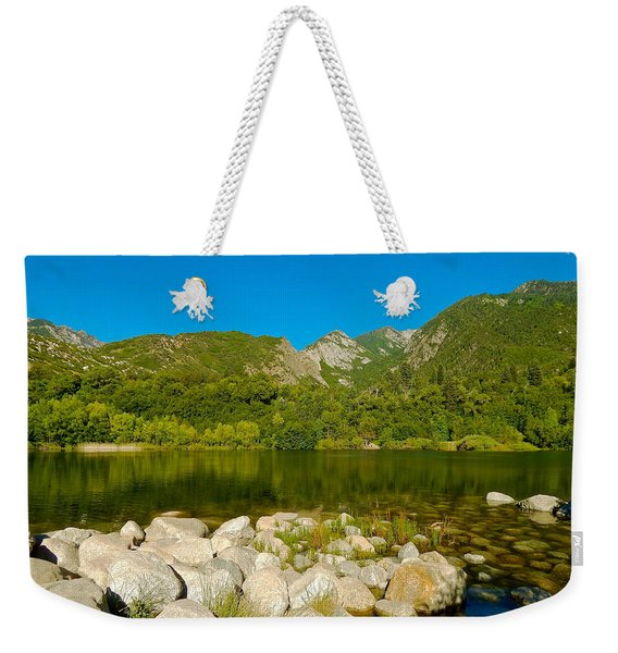 Lower Bells Canyon Reservoir Weekender Tote Bag