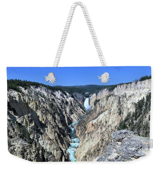 Lower Falls From Artist Point Weekender Tote Bag