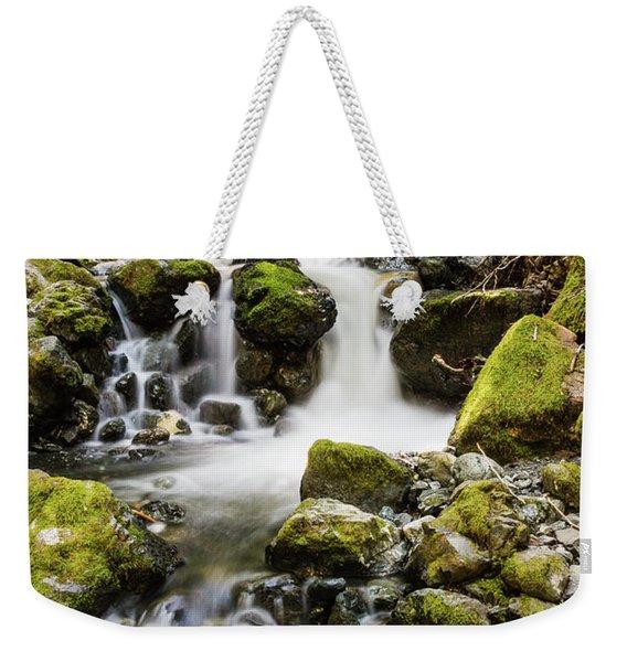 Lower Lupin Falls   Weekender Tote Bag