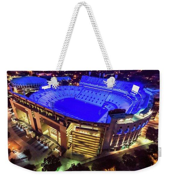 Lsu Blue Weekender Tote Bag