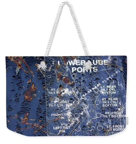 Lube Port Weekender Tote Bag