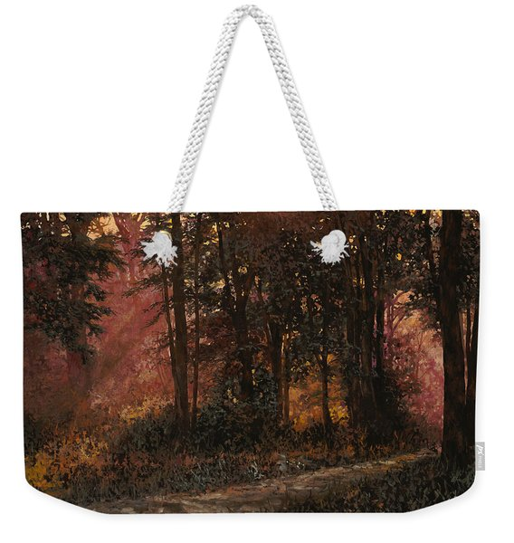 Luci Nel Bosco Weekender Tote Bag