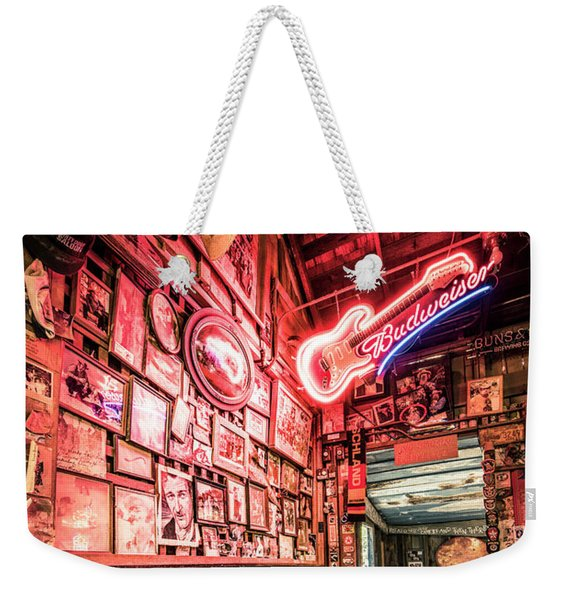Luckenbach Wall Of Fame Weekender Tote Bag