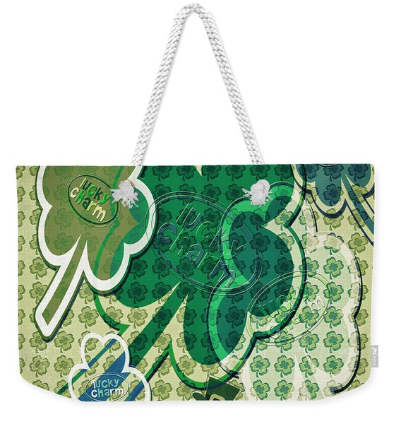 Lucky Charms Weekender Tote Bag