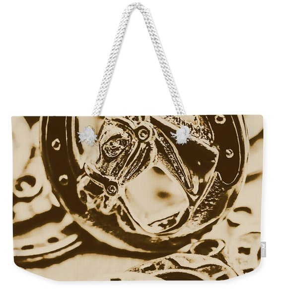 Lucky Cowboys Charm Weekender Tote Bag