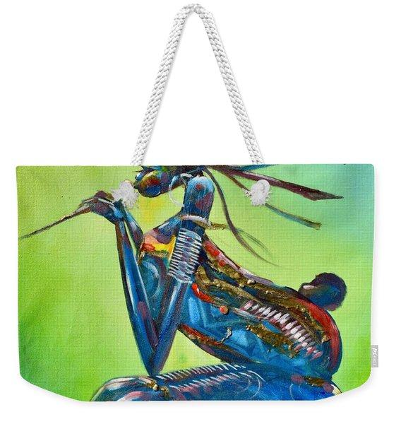 Green Lullaby Weekender Tote Bag