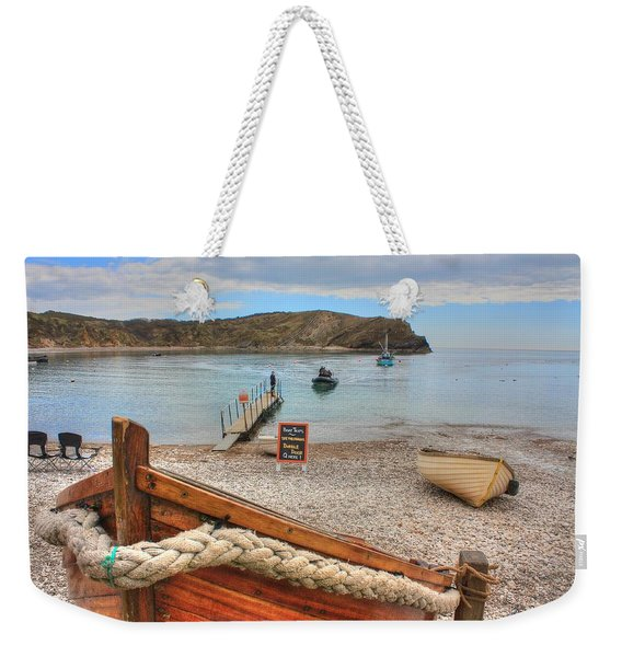 Lulworth Cove Weekender Tote Bag