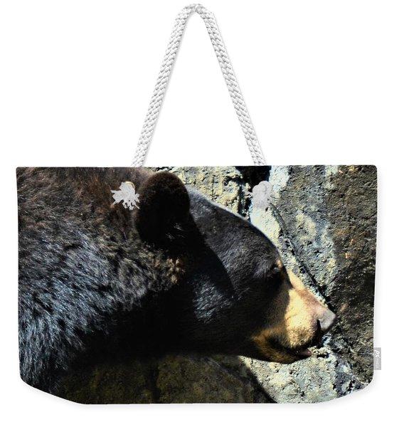 Lumbering Bear Weekender Tote Bag