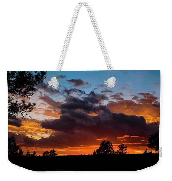 Weekender Tote Bag featuring the photograph Luminous Dessert by Jason Coward