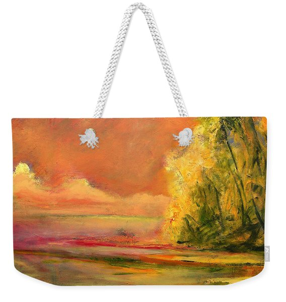 Luminous Sunset 2-16-06 Julianne Felton Weekender Tote Bag