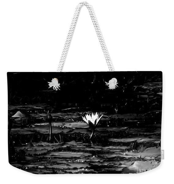 Luminous Water Lily  Weekender Tote Bag